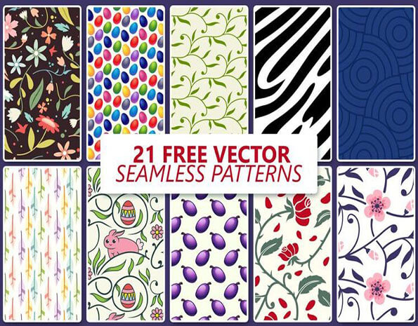 Vector Seamless Texture Pack
