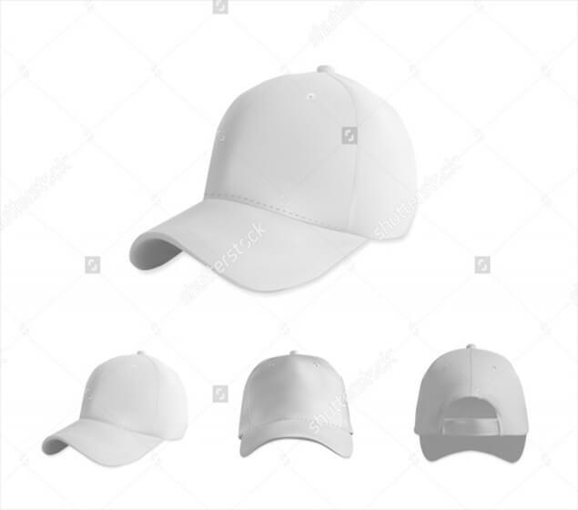 White baseball Mockup Download