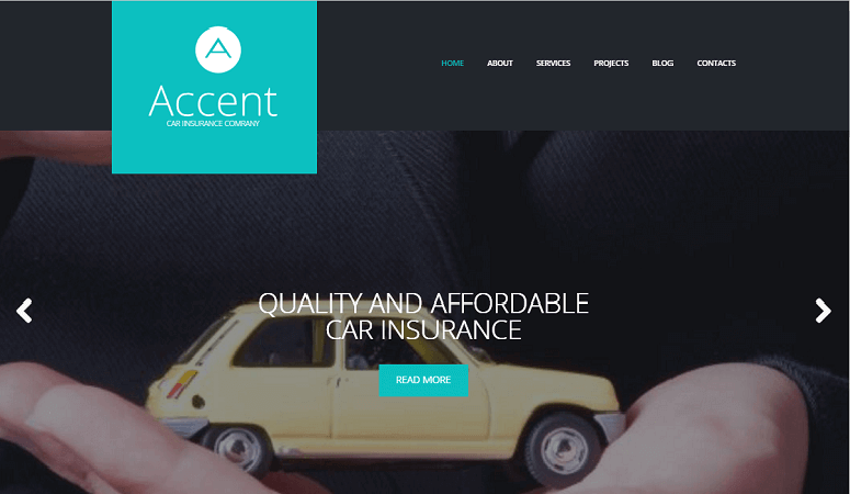 accent WordPress Theme
