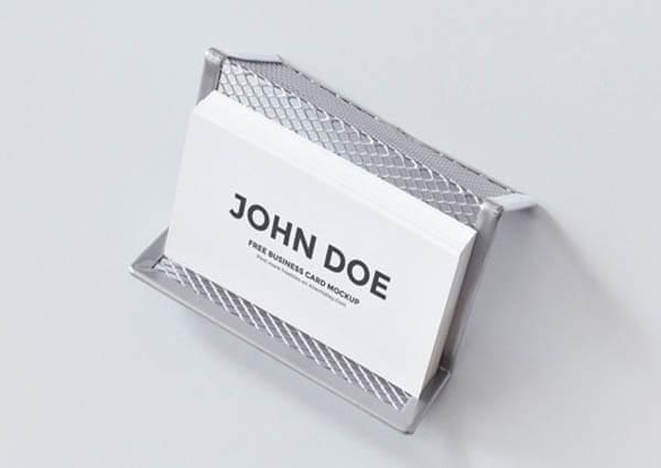 card holder Free PSD Business