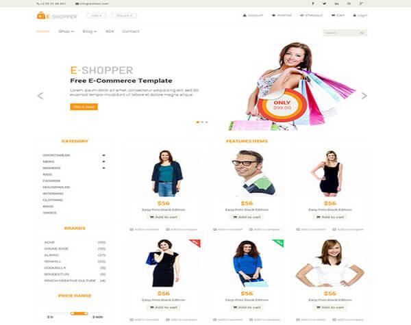 eShopper Responsive HTML5 1
