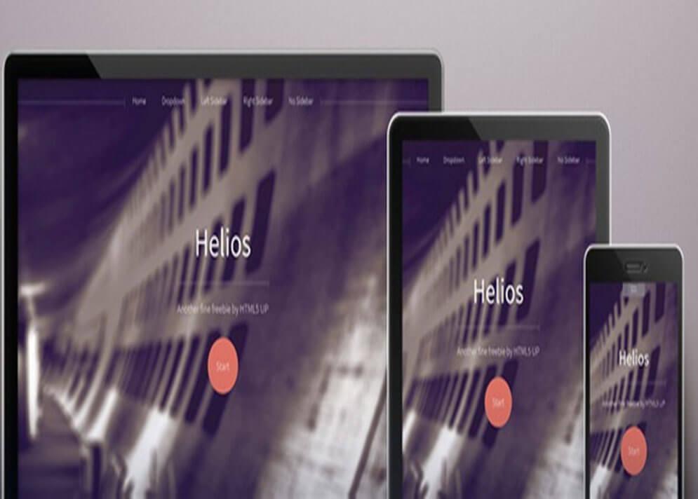 helios HTML5 CSS3 1