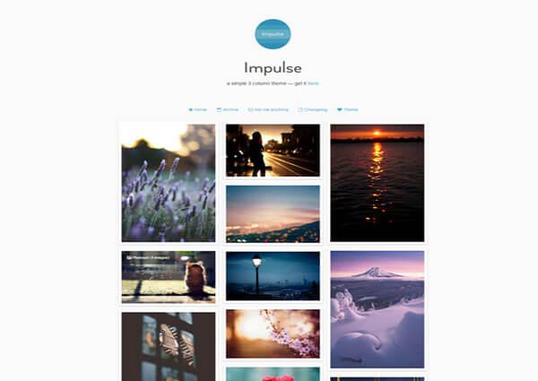 impulse Tumblr Theme