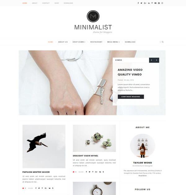 minimalist Best Free