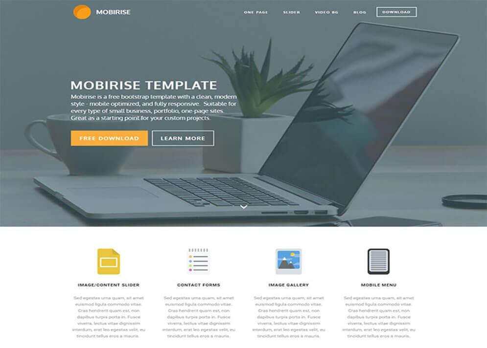 mobirise Website Template
