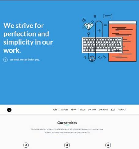 one engine WordPress Theme
