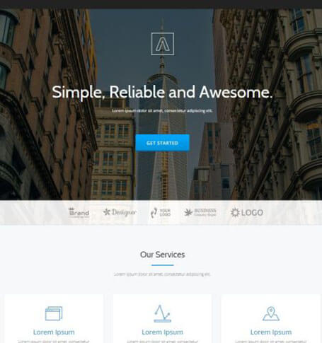 parallax Best Responsive One