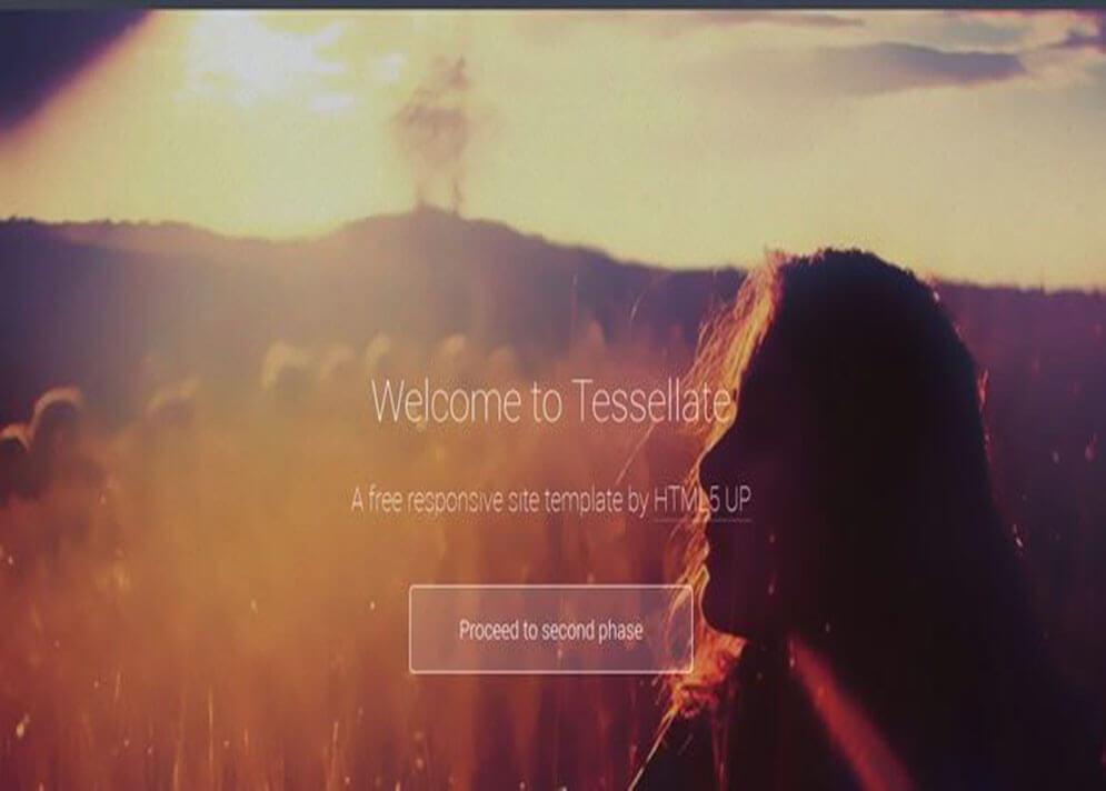 responsive HTML5 CSS3