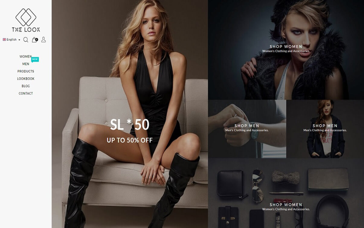the look Magento Fashion