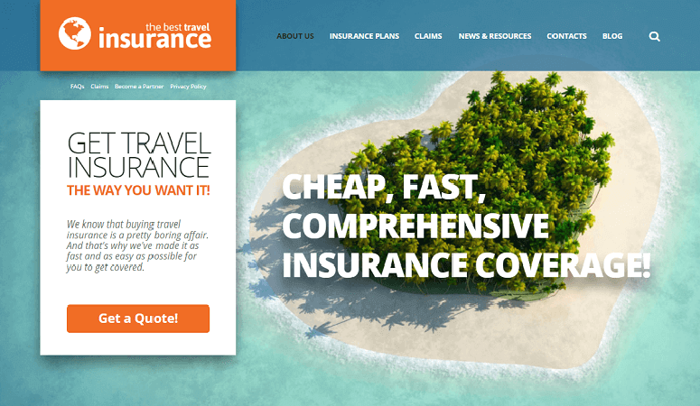 travel Best Responsive Insurance WordPress