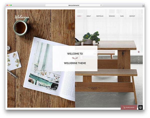 wolverine HTML5 CSS3 Website