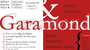 Garamond Font Free 300x168