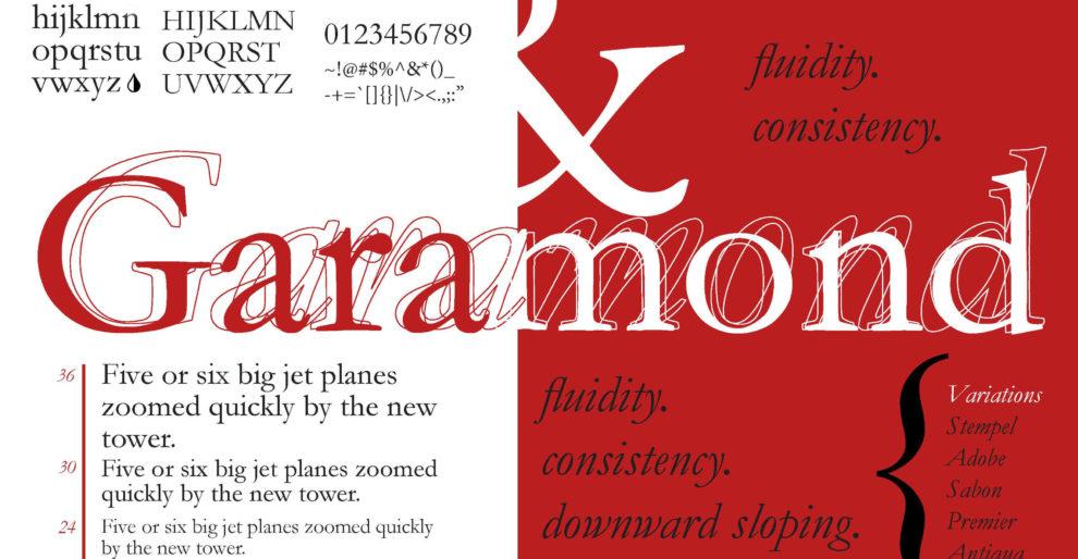 Garamond Font Free 990x514