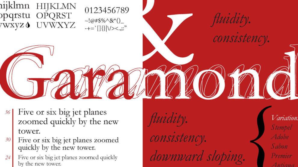 Garamond Font Free 990x556