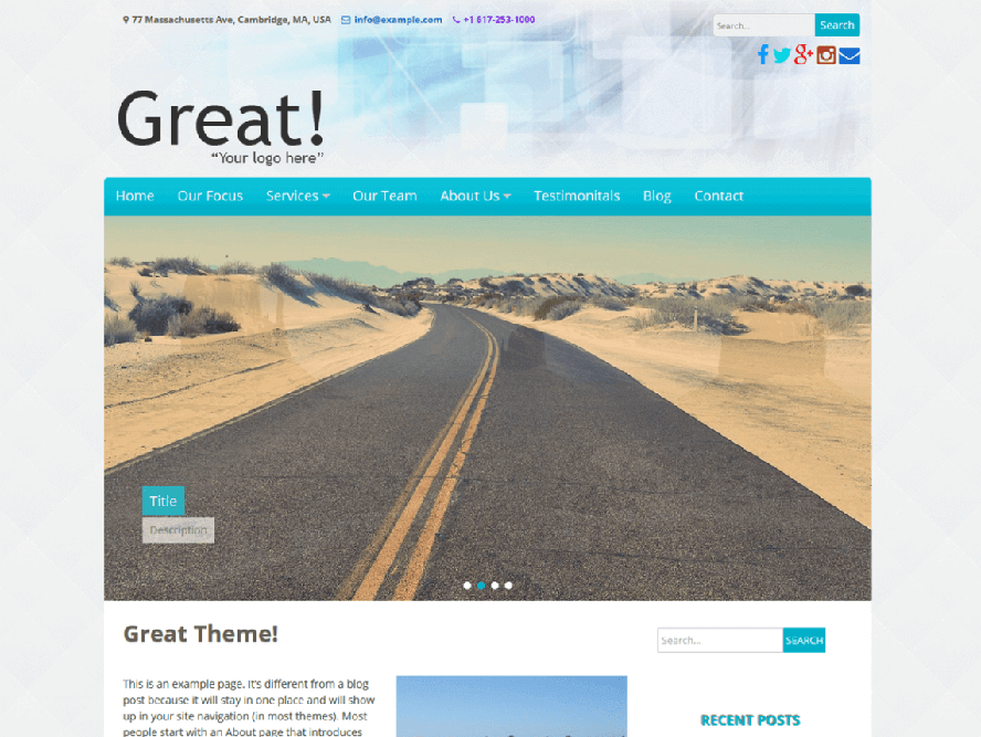 Great theme Photography WordPress Themes 1