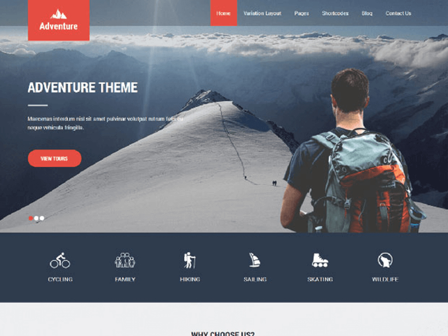 adventure lite ptheme Best Free Photography WordPress Themes 2