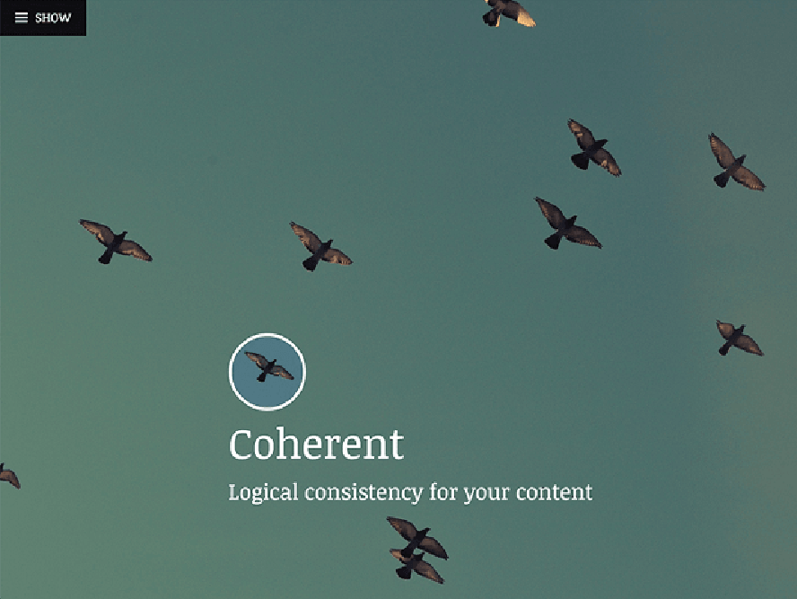 coherent Best Free Photography WordPress Themes 2