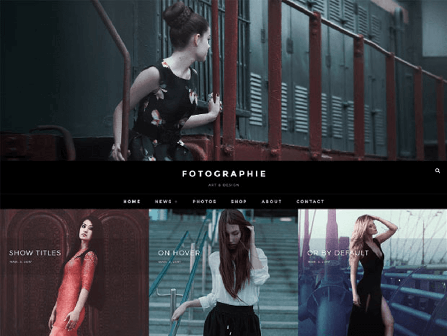 fotografie ftheme Best Free Photography WordPress Themes 2