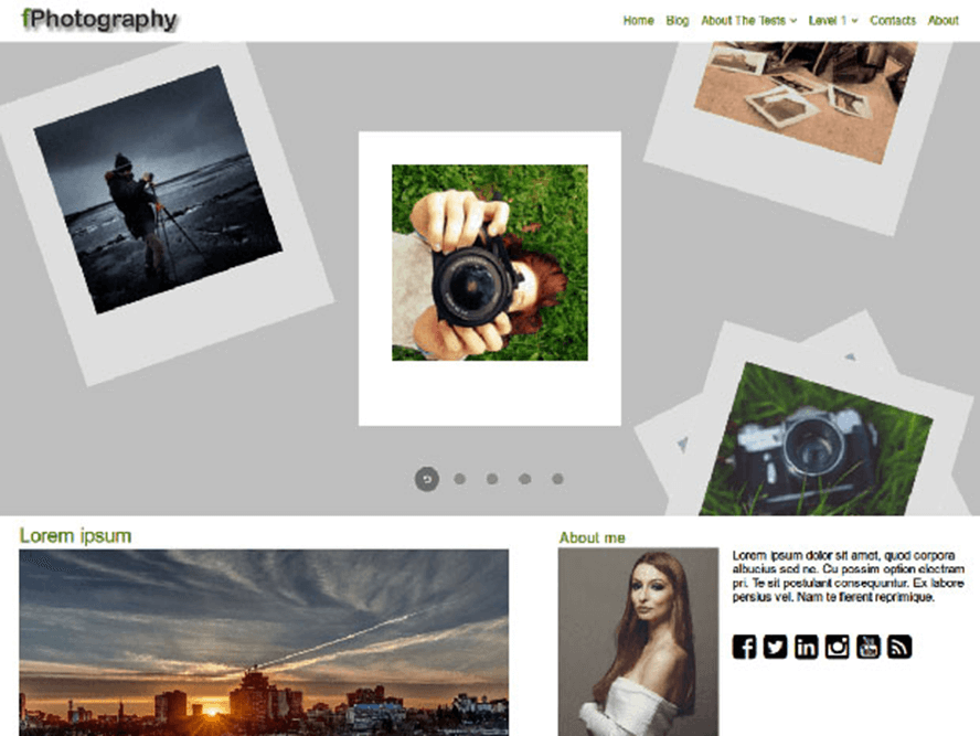 fphotography theme Photography WordPress Themes 2