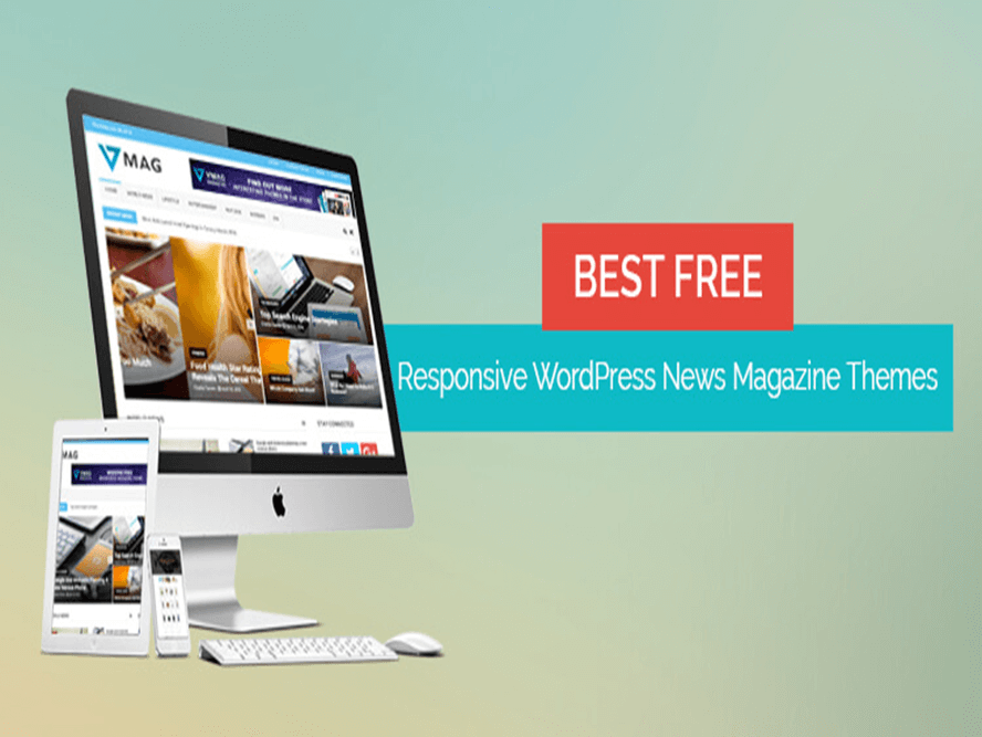 free wp news magazine themes Responsive Magazine WordPress