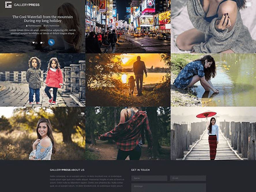 gallerypress ptheme theme Photography WordPress Themes 1