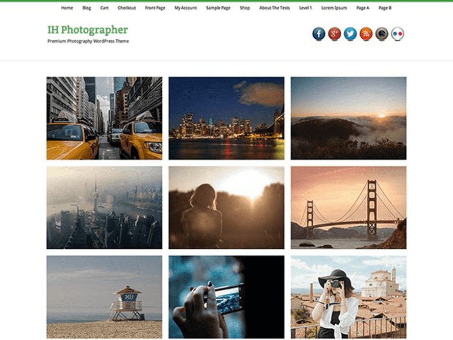infinite photography pthemes theme Photography WordPress Themes 2 1