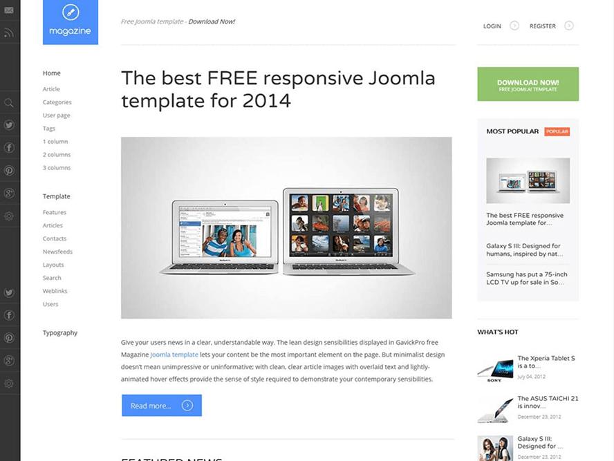 magazine free wordpress theme Best Responsive Magazine WordPress Theme