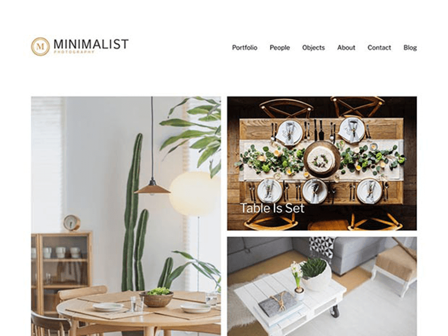 minimalist ptheme Free Photography WordPress Themes 2018 1