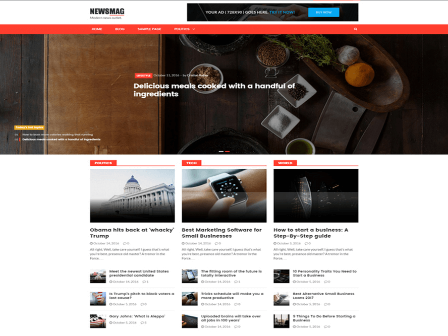 newsmag theme for bloggers Best Responsive Magazine WordPress Theme