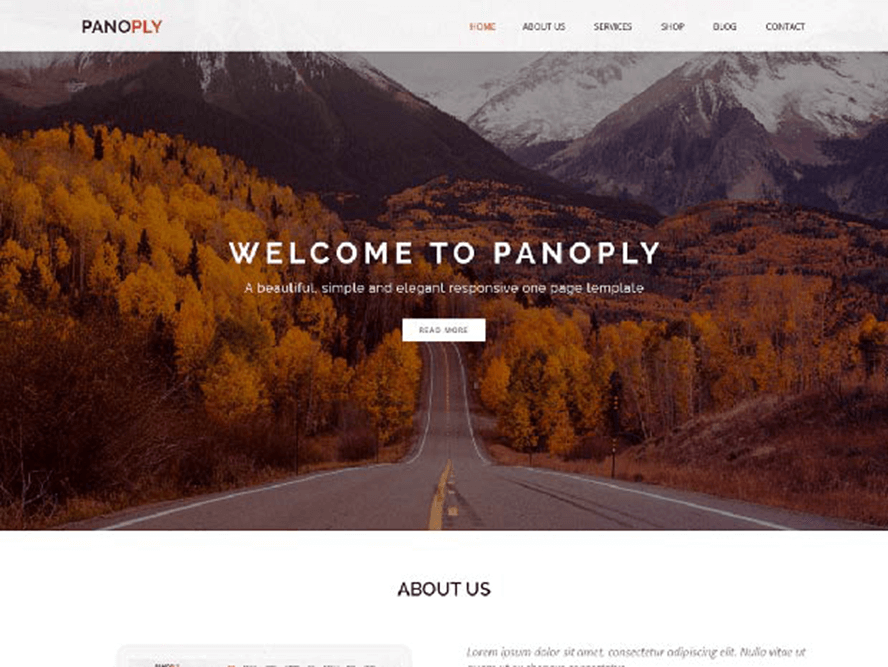 panoply ptheme Free Photography WordPress Themes 2018 1