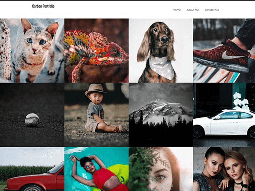 thumbs portfolio ptheme Free Photography WordPress Themes 2018