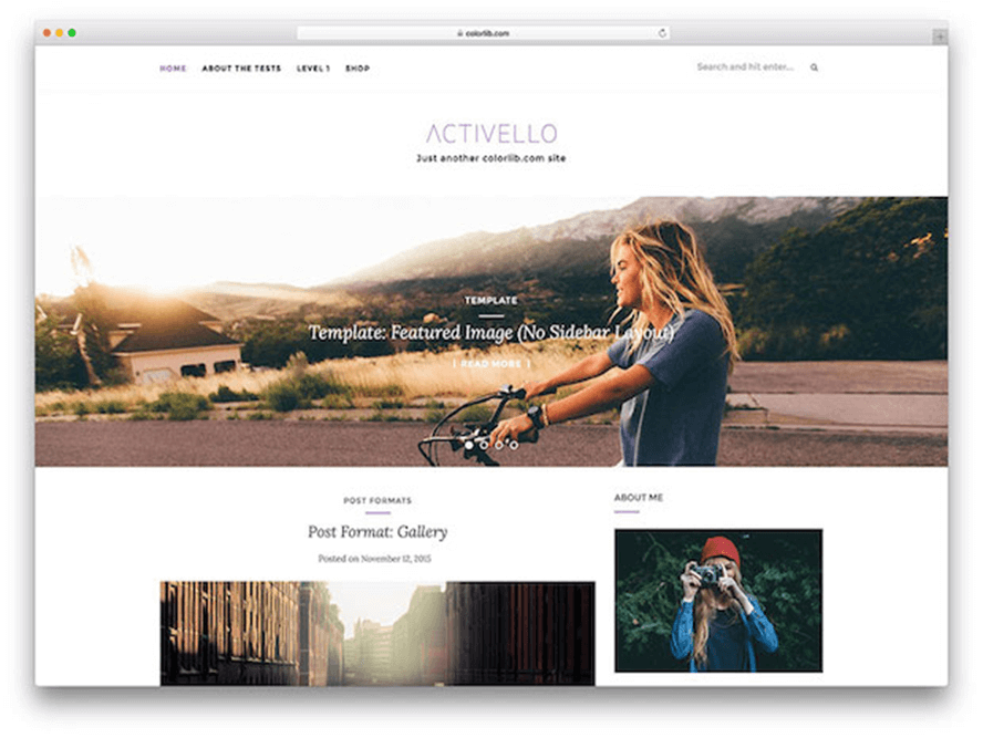 wpthemes 2 Free Photography WordPress Themes 2018