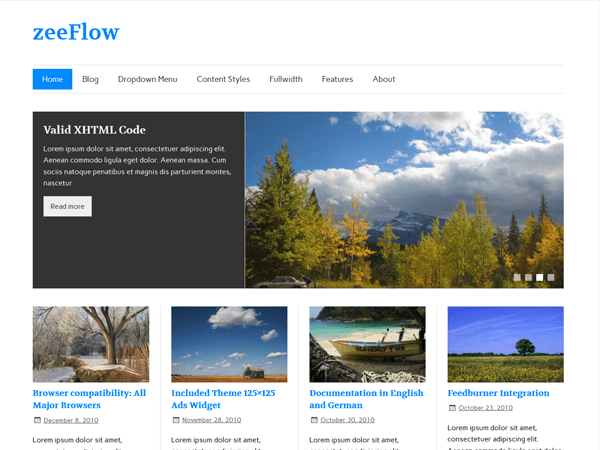 zeeflow theme Magazine WordPress Theme