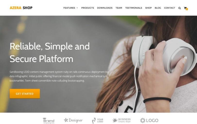 best ecommerce wordpress themes 2018 free 1