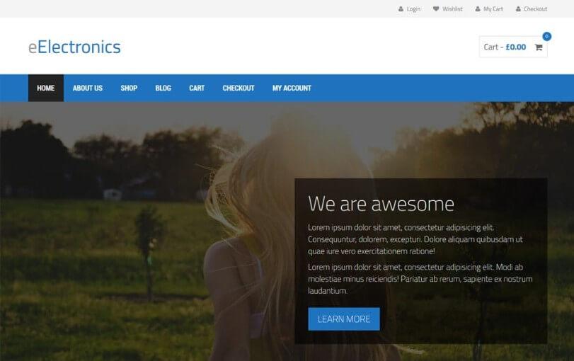 best ecommerce wordpress themes 2018 free 3