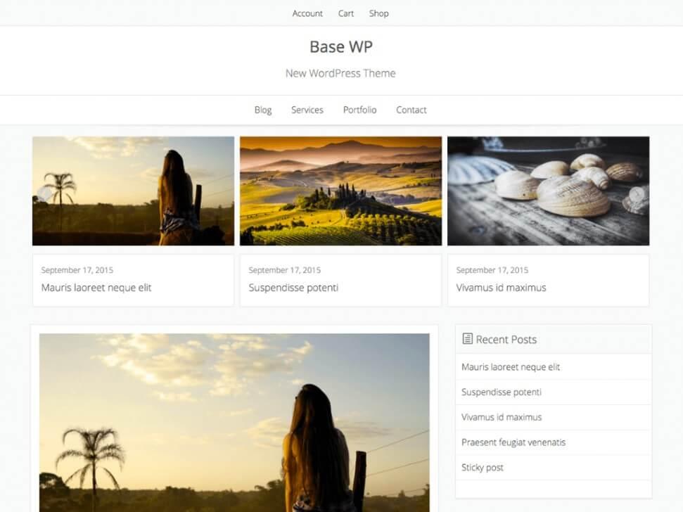 best ecommerce wordpress themes 2018 free 4
