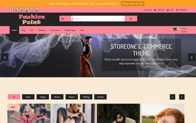 50+ Best Free eCommerce WordPress Themes 2018