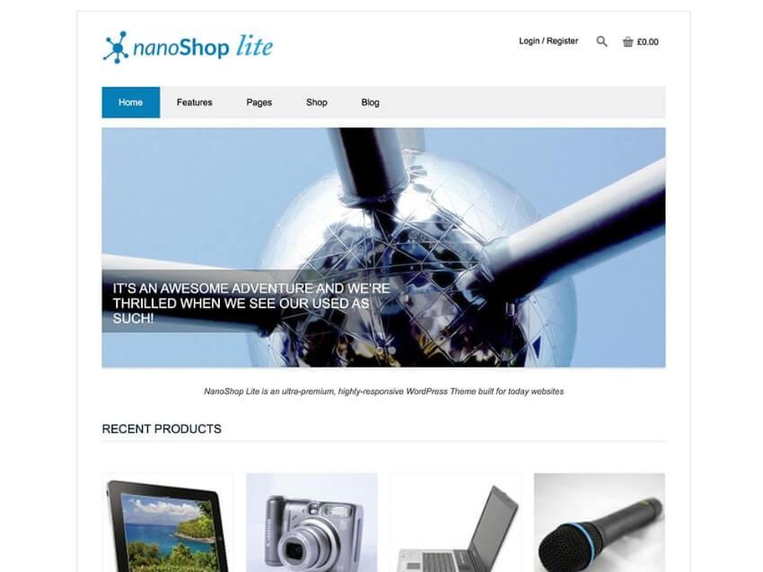 best wordpress ecommerce themes 2