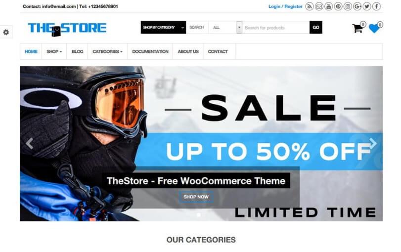 cheap ecommerce wordpress themes 1 1