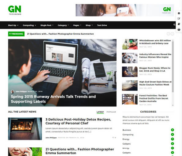 free wordpress magazine themes 2