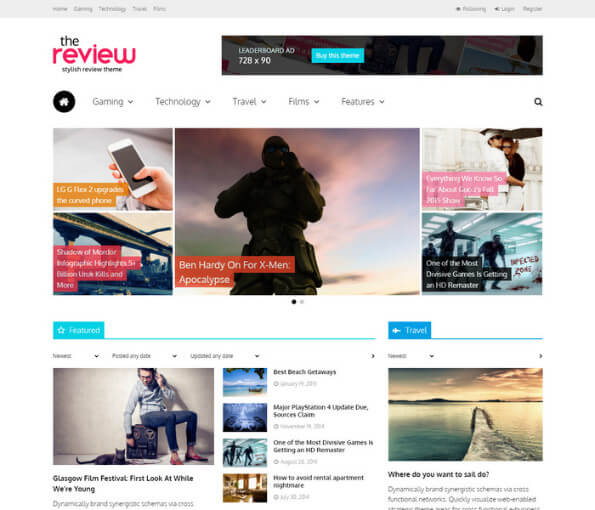 magazine wordpress theme 2018 1
