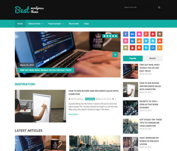 news portal wordpress theme free 2 1