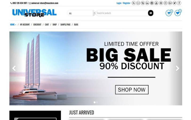 premium ecommerce wordpress themes 4