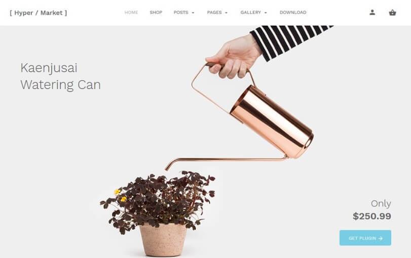 product showcase wordpress theme free 2