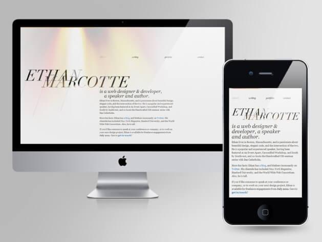 responsive web design css 3