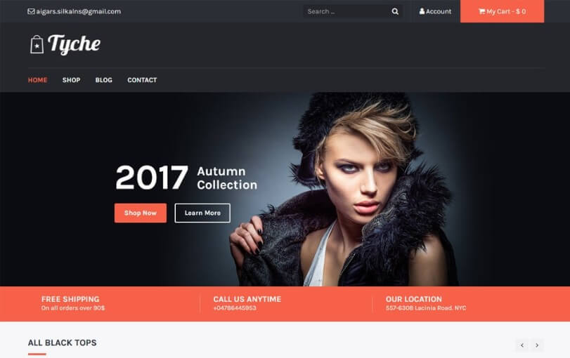 top free ecommerce wordpress themes 1