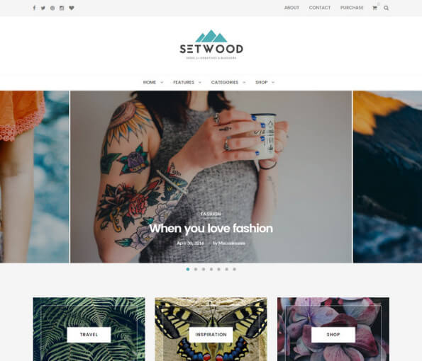 wordpress themes free download responsive with slider 2018 4