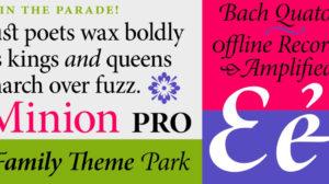 Minion Pro Font