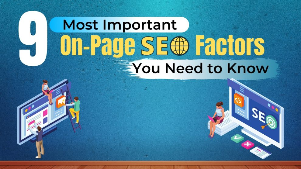 On-Page SEO Factors